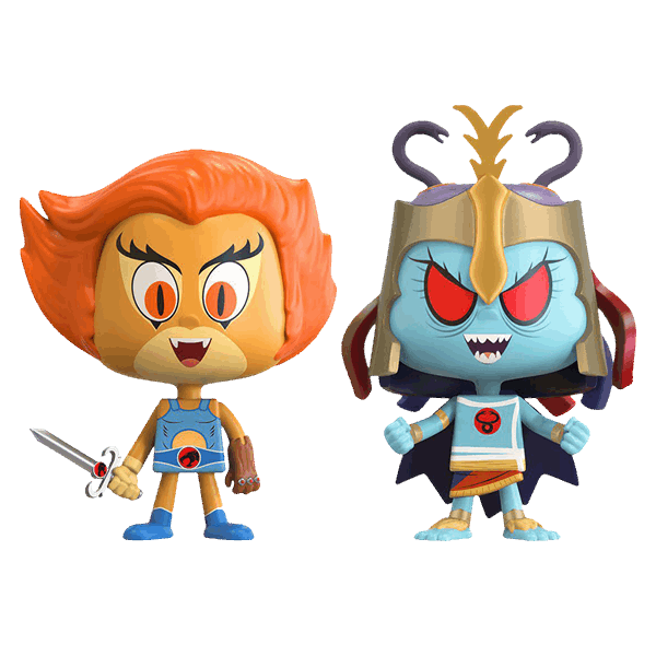 Thundercats - Lion-O and Mumm-Ra NYCC17 Vynl Figure 2-pack - Packshot 1