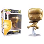 Bruce Lee - Game of Death Flying Kick Gold Pop! Vinyl Figure - Packshot 1