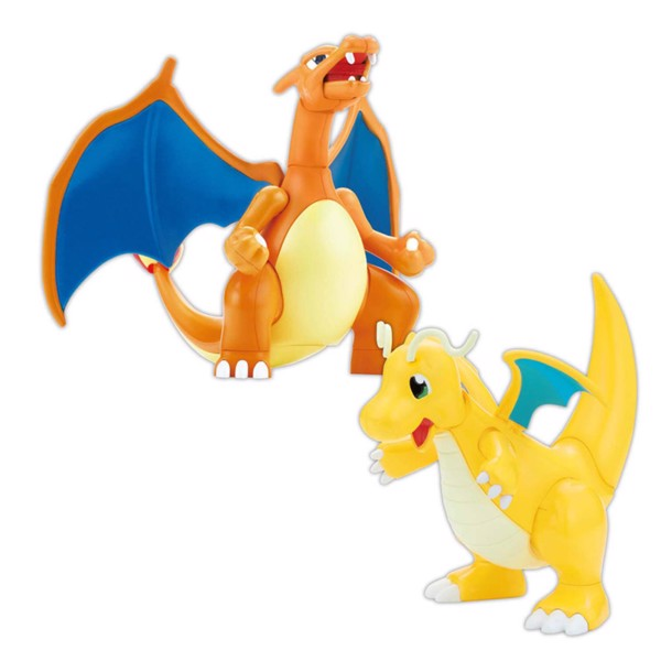 Pokemon - Charizard & Dragonite Model Kit - Packshot 1