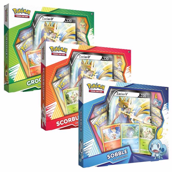 Pokemon - TCG - Galar Region Collection - Packshot 1