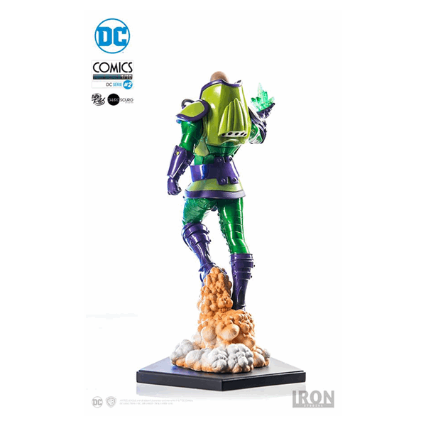 DC Comics - Lex Luthor 1/10th Scale Statue - Packshot 3