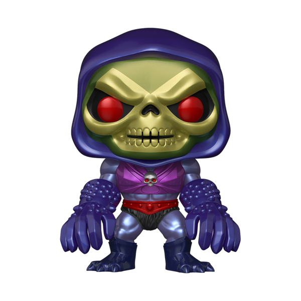 Masters of the Universe - Skeletor with Terror Claws Metallic Pop! Vinyl Figure - Packshot 1