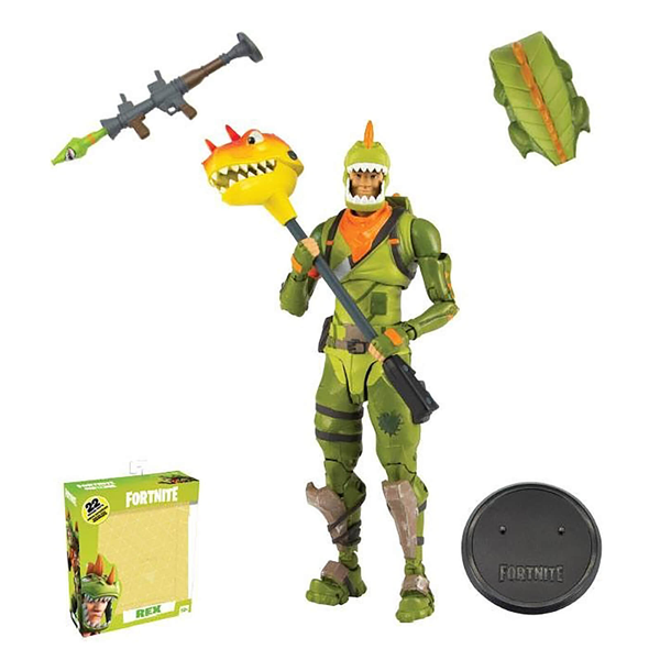 "Fortnite - Rex 6"" Action Figure - Packshot 1"