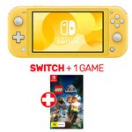 Nintendo Switch Lite Console Yellow + 1 Game - Packshot 1