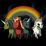 Four Unicorns T-Shirt - Packshot 2
