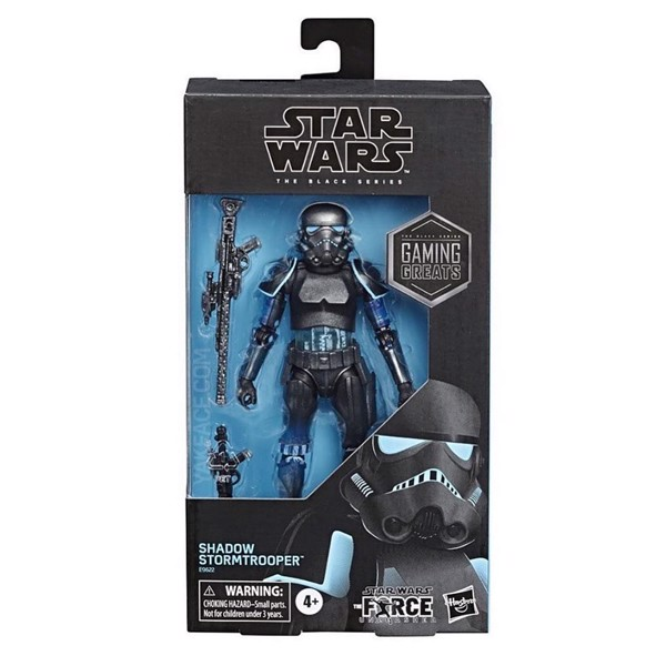 Star Wars - Black Series - Shadow Stormtrooper Figure - Packshot 2