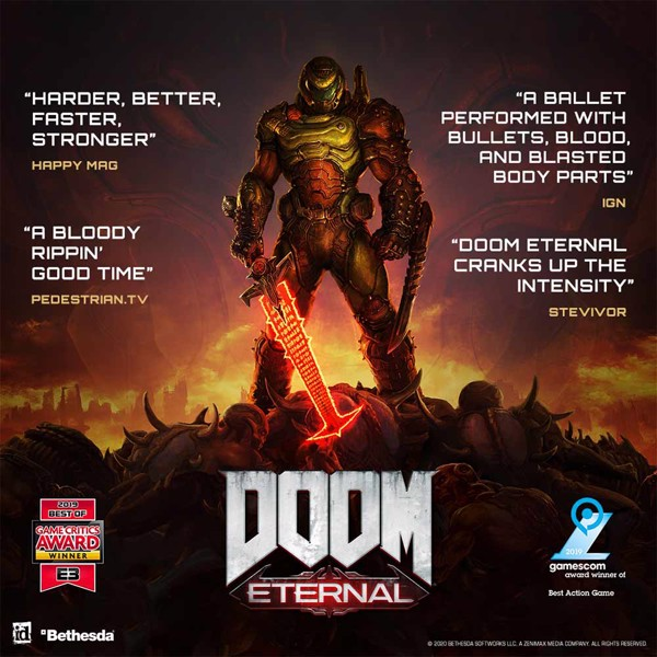 DOOM Eternal Deluxe Edition - Packshot 4