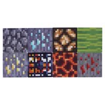 Minecraft - 8 Pack Block Coasters - Packshot 3