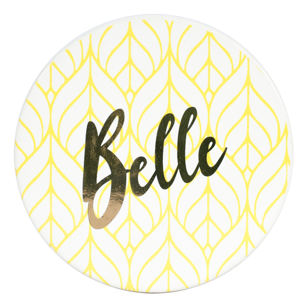 Disney - Beauty and The Beast - Belle Gold Pinache Coasters 4-Pack - Packshot 5