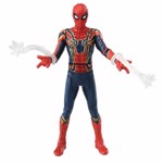 Marvel - Avengers: Endgame - Iron Spider with Web Accessories Metacolle Figure - Packshot 4