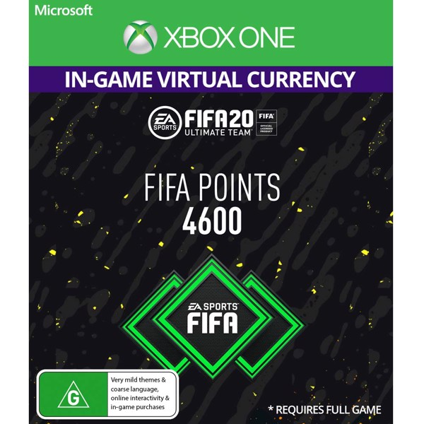 FIFA 20 - 4600 Points (In-Game Currency) - Packshot 1