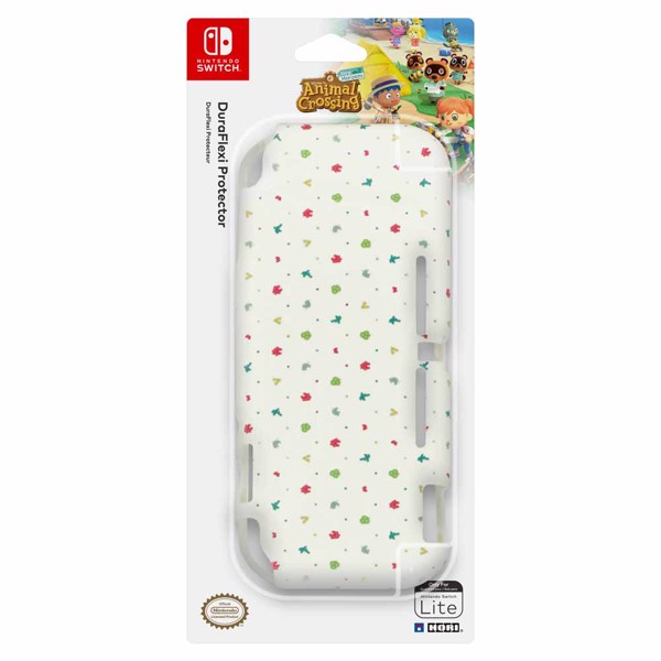 Animal Crossing New Horizons Hori Duraflexi Protector Nintendo Switch Lite Case - Packshot 1