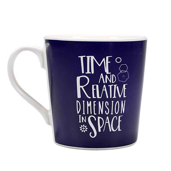 Doctor Who - Heat Changing Galaxy Mug - Packshot 1