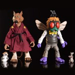 "Teenage Mutant Turtle - Splinter & Baxter Stockman 7"" Action Figure 2-pack - Packshot 3"