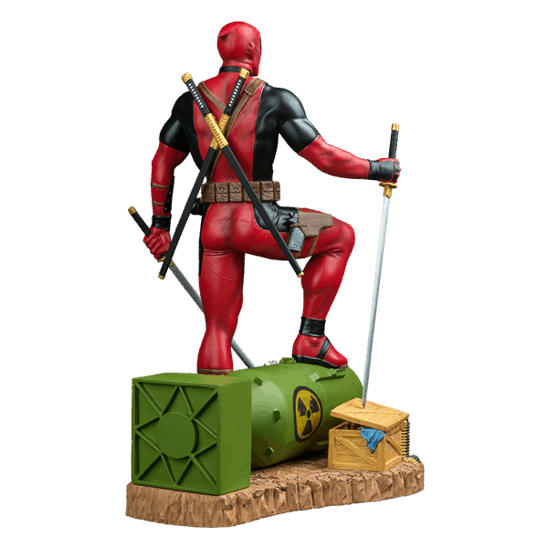 Marvel - Deadpool on Atom Bomb 1/6 Scale Statue - Packshot 3