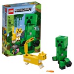 Minecraft - LEGO BigFig Creeper™ and Ocelot - Packshot 1