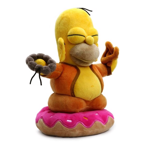 "The Simpsons - Homer Buddha - 10"" Character Plush - Packshot 3"