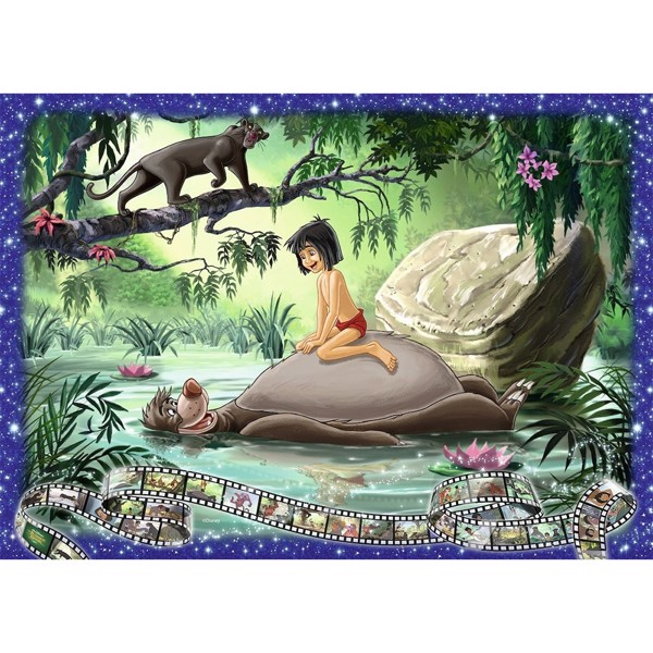 Disney - The Jungle Book Ravensburger 1000-Piece Puzzle - Packshot 2