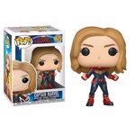 Marvel - Captain Marvel - Captain Marvel Pop! Vinyl Figure - Packshot 1
