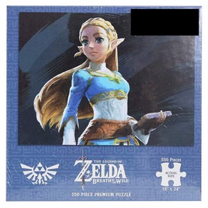 The Legend of Zelda - Breath of the Wild Princess Zelda 550-Piece Puzzle