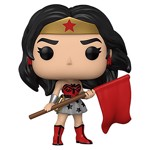 DC Comics - Wonder Woman 80th Anniversary Red Son Outfit Pop! Vinyl Figure - Packshot 1
