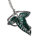 Lord of the Rings - Elven Leaf Pendant and Brooch - Packshot 1