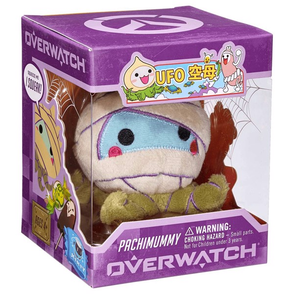 Overwatch - Pachimari Halloween Plush (Pachimummy) - Packshot 2