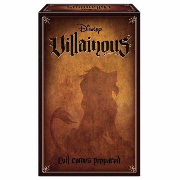 Disney - Villainous: Evil Comes Prepared - Board Game - Packshot 1