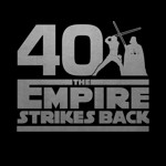 Star Wars - Empire Strikes Back 40th Anniversary Black T-Shirt - L - Packshot 2