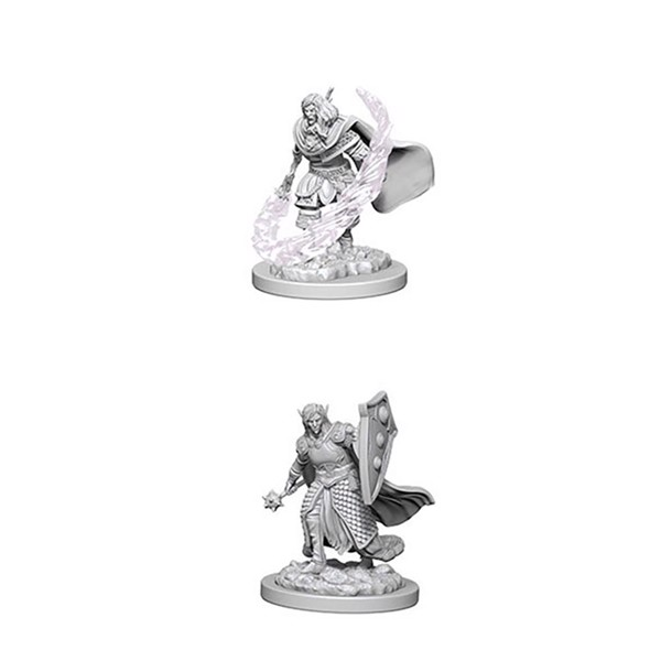 Dungeons & Dragons - Nolzur's Marvelous Miniatures - Elf Male Cleric - Packshot 1