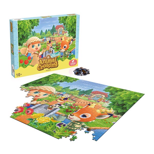 Animal Crossing - Animal Crossing New Horizons 1000 piece Jigsaw Puzzle - Packshot 1