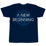God Of War - A New Beginning Men's T-Shirt - Navy - Packshot 1