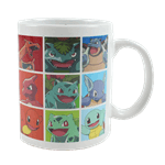 Pokemon - Kanto Starters Heat Changing Mug - Packshot 1