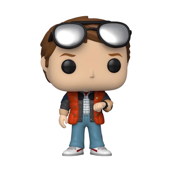 Back to the Future - Marty checking watch SDCC 2020 Pop! Vinyl Figure - Packshot 1