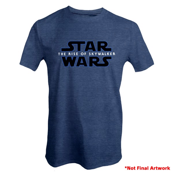 Star Wars - Episode IX The Rise of Skywalker Logo T-Shirt - Packshot 1