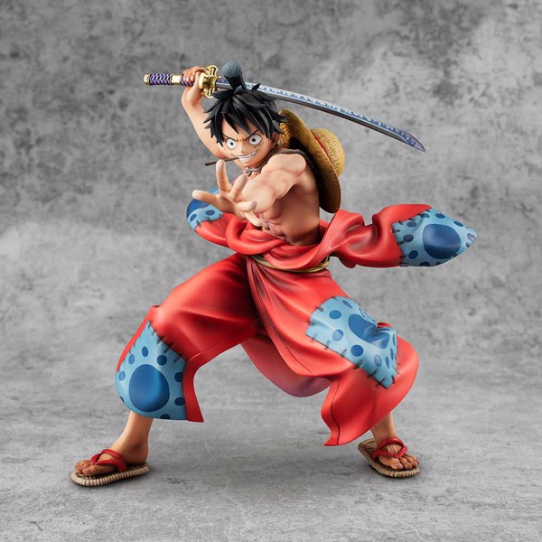One Piece - Luffy Taro Warriors MegaHouse PVC Figure - Packshot 3