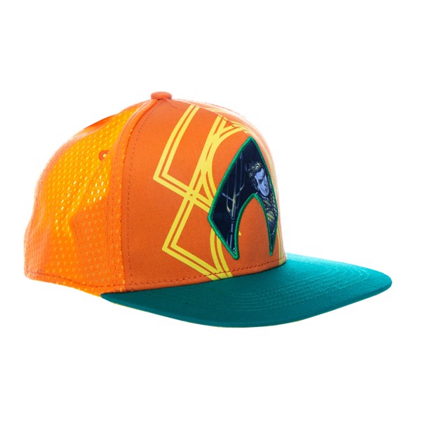 DC Comics -  Aquaman - Character Embroidered Cap - Packshot 2