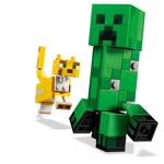 Minecraft - LEGO BigFig Creeper™ and Ocelot - Packshot 4