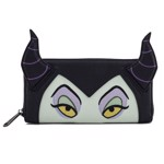 Disney - Malificent Faux Leather Zip Around Loungefly Wallet - Packshot 1