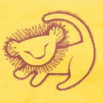 Disney - The Lion King - Simba Draw Yellow T-Shirt - Packshot 2