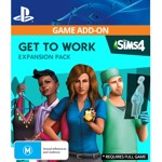 The Sims™ 4 Get to Work (Game Add-On) - Packshot 1