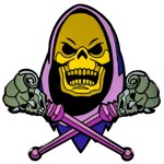 Masters of the Universe - Skeletor Enamel Pin - Packshot 1