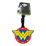 DC Comics - Wonder Woman Logo Bag Tag - Packshot 1