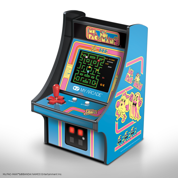 "Ms Pacman Micro Player 6"" Collectible Retro My Arcade Arcade Machine - Packshot 1"