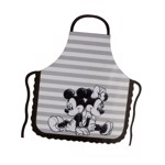 Disney - Mickey Mouse - Mickey and Minnie Striped Pinache Apron - Packshot 1