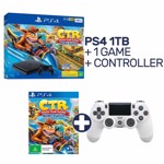 PlayStation 4 1TB Crash Team Racing Console + Extra Controller - Packshot 1