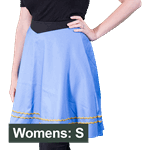 Star Trek - Sciences TOS Uniform Women's Skirt - Blue - Size: S - Packshot 1