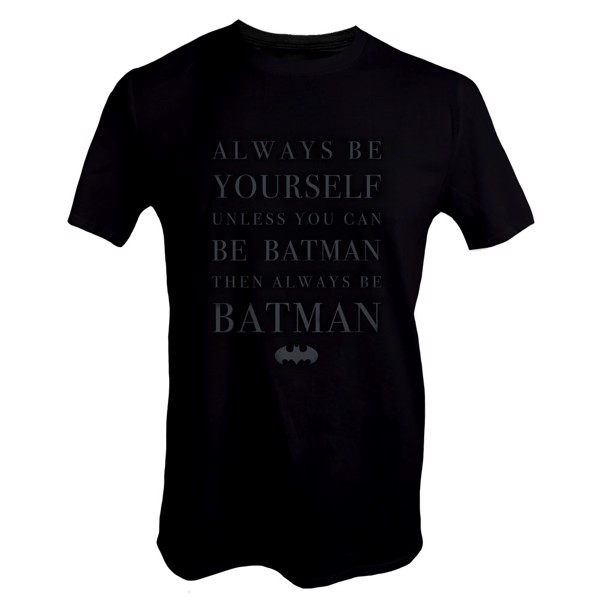 DC Comics - Always Be Batman T-Shirt - Packshot 1