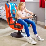 X-Rocker Nintendo Veleno 2.1 Mario Gaming Chair - Packshot 5