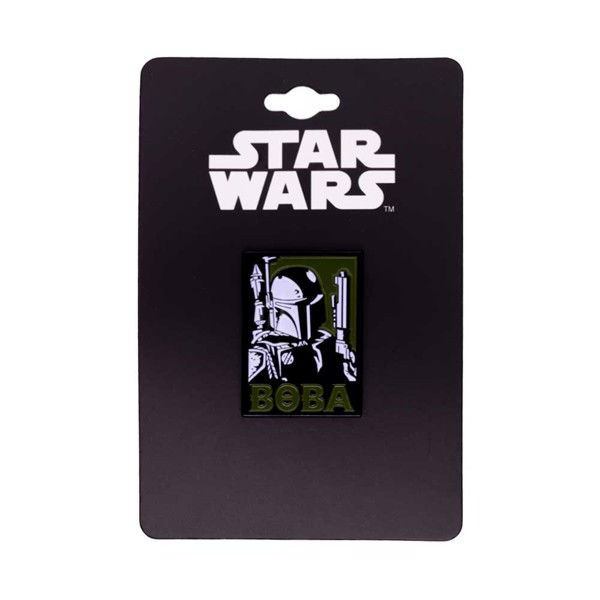 Star Wars - Boba Fett Propaganda Pin - Packshot 1